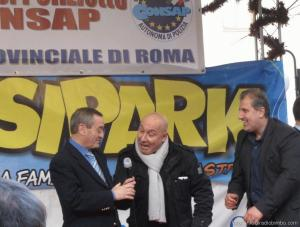 Il celebre comico Maurizio Battista ospite alla Befana CONSAP 2013