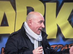 Maurizio Battista alla Befana CONSAP 2013