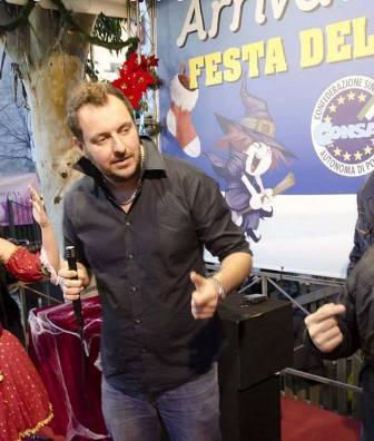 Roby Rossini alla Befana CONSAP 2014